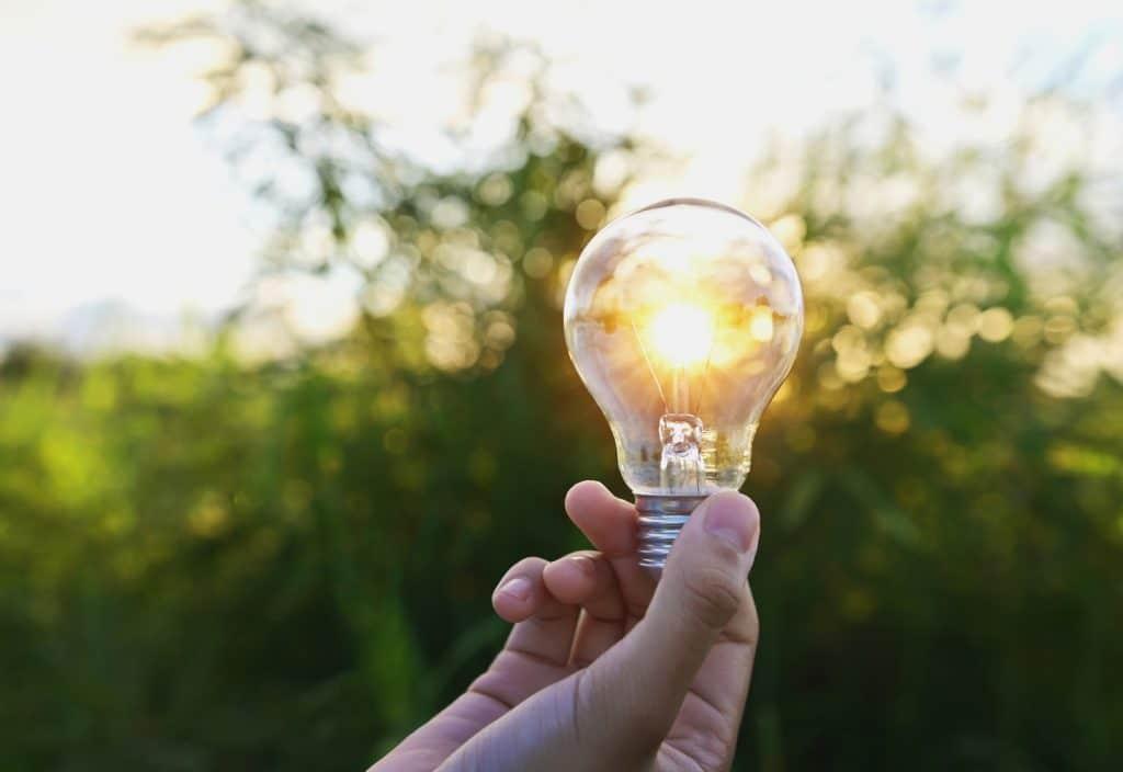 tijd voor besparen verlichting