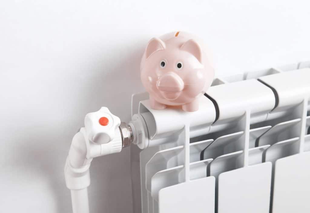 tijd voor besparen verwarming